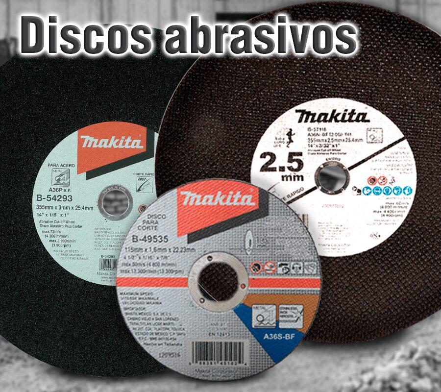 Accesorios para herramientas makita | discos abrasivos