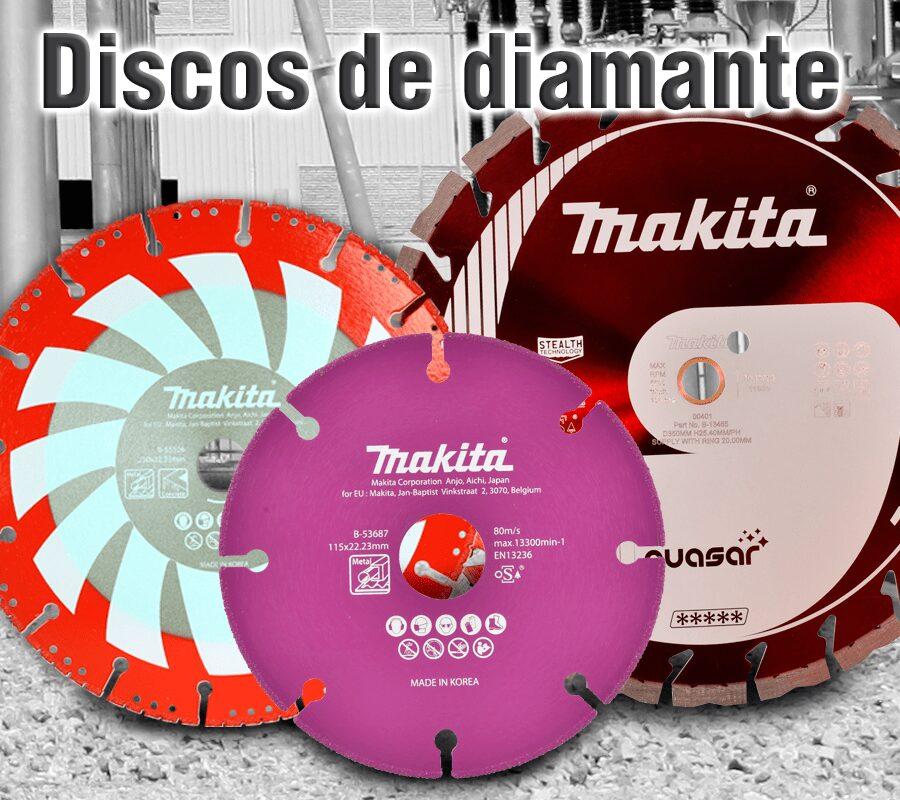 Accesorios para herramientas makita | Discos de diamante