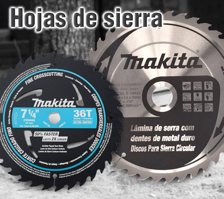 Accesorios herramientas makita | Hojas de Sierra