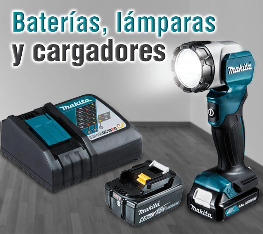 Accesorios para herramientas makita | Baterias, lamparas y cargadores